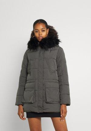 JDYDINA PADDED PARKA - Winter coat - grey