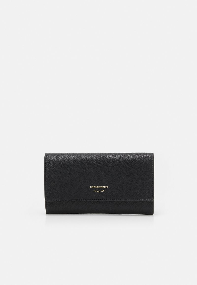 Emporio Armani - MYEA FOGLIO CONTINENTAL - Wallet - black