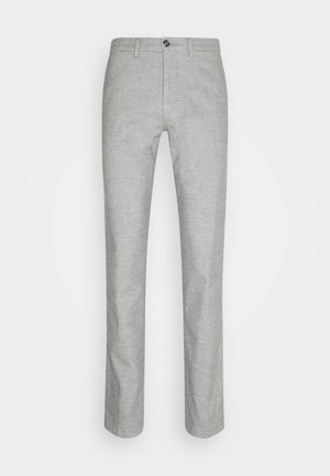 DENTON CHINO WOOL LOOK FLEX - Chinot - grey