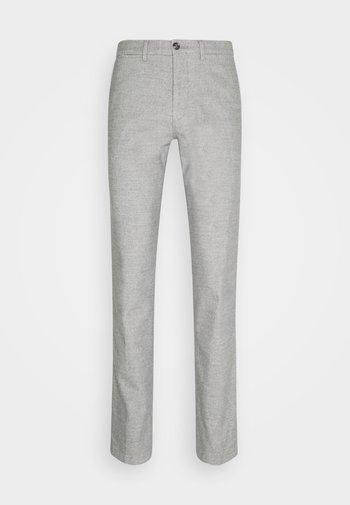 DENTON CHINO WOOL LOOK FLEX - Chinot - grey