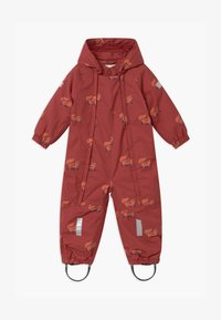 TINYCOTTONS - FOXES SNOW  - Snowsuit - dark brown/sienna - 0