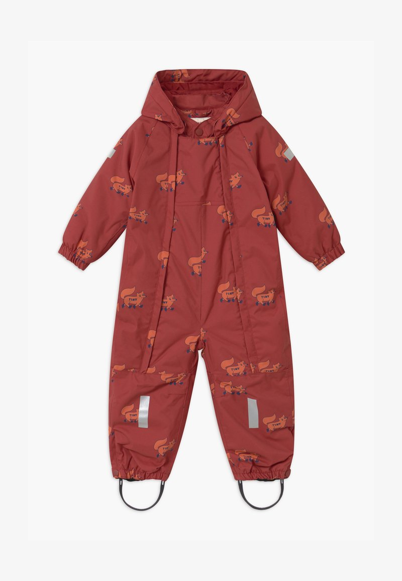 TINYCOTTONS - FOXES SNOW  - Snowsuit - dark brown/sienna