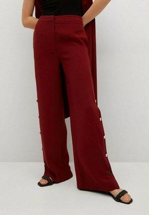 Kalhoty - rødbrun
