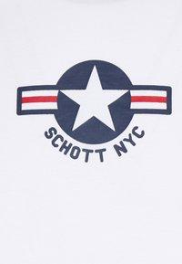 Schott - TSRANKS - Print T-shirt - white - 2