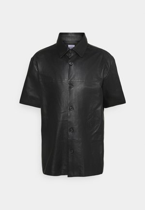 SHORT SLEEVE ORION SHINY - Shirt - black