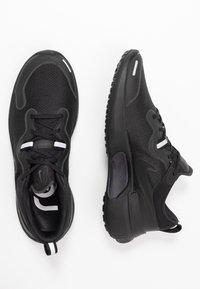 Nike Performance - REACT MILER - Neutral running shoes - black - 1
