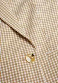 Mango - CHARLOTT - Abrigo corto - beige - 6