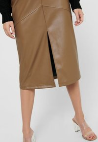 ONLY - Pencil skirt - warm sand - 5