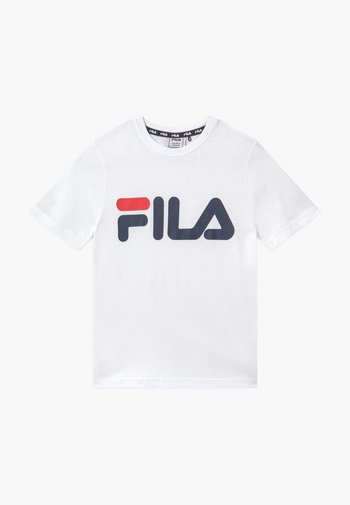 GAIA CLASSIC LOGO UNISEX - T-shirt con stampa - bright white