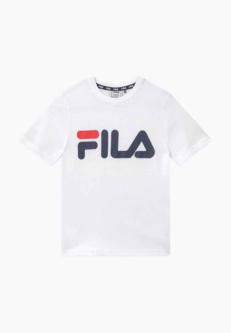 Fila - GAIA CLASSIC LOGO UNISEX - Printtipaita - bright white