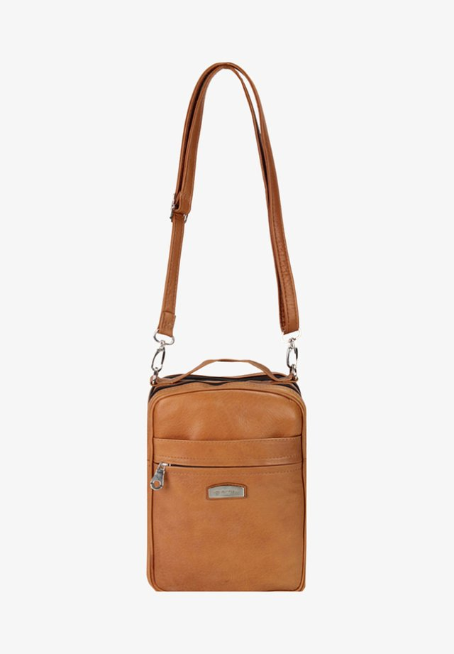 COUNTRY - Across body bag - cognac