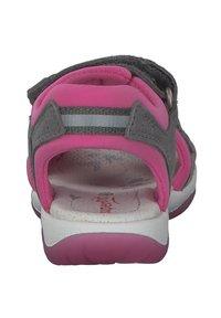 Superfit - Walking sandals - hellgrau rosa - 2