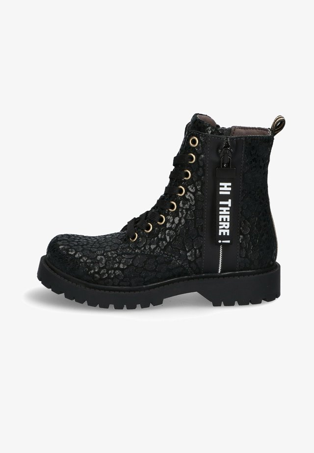 Veterboots - black/panther