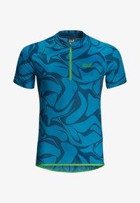 Jack Wolfskin - GRADIENT - T-Shirt print - blue jewel all over - 4