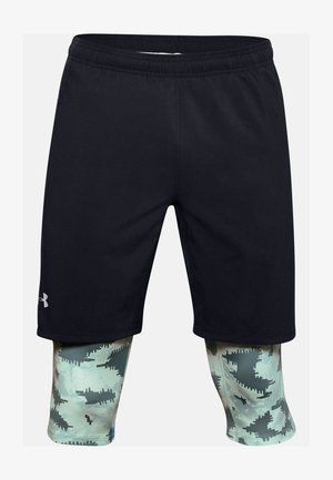 2-IN-1 - Sports shorts - lichen blue