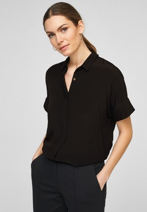 Button-down blouse - true black