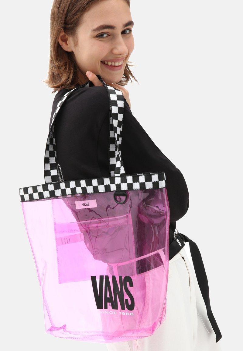 Vans - WM HIGH KEY TOTE - Tote bag - orchid