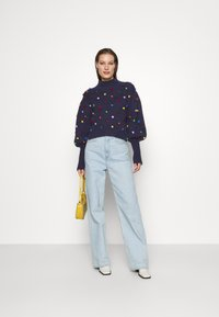 Farm Rio - COLORFUL DOTS  - Jumper - navy - 1