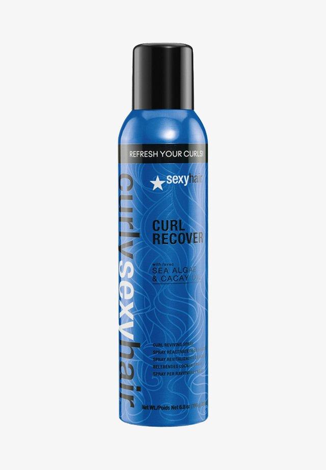 SPRÜHSCHAUM CURLY CURL POWER - Hair styling - -