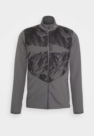 MEN RELEASE PRINTED JACKET - Veste softshell - steel grey/dark dusk