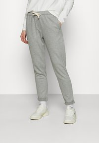American Vintage - FEELGOOD - Tracksuit bottoms - gris chine - 0