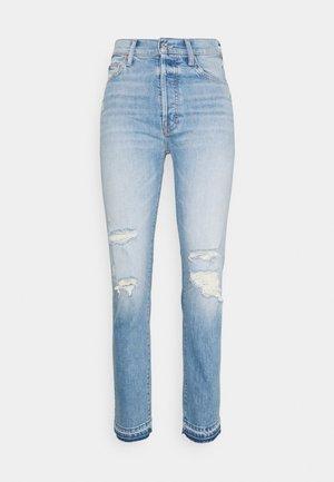 HIKER HOVER UNDONE - Straight leg jeans - light blue