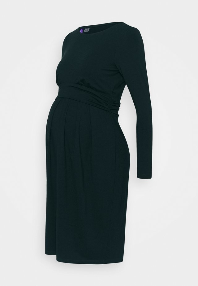 PEACHEY - Jersey dress - emerald