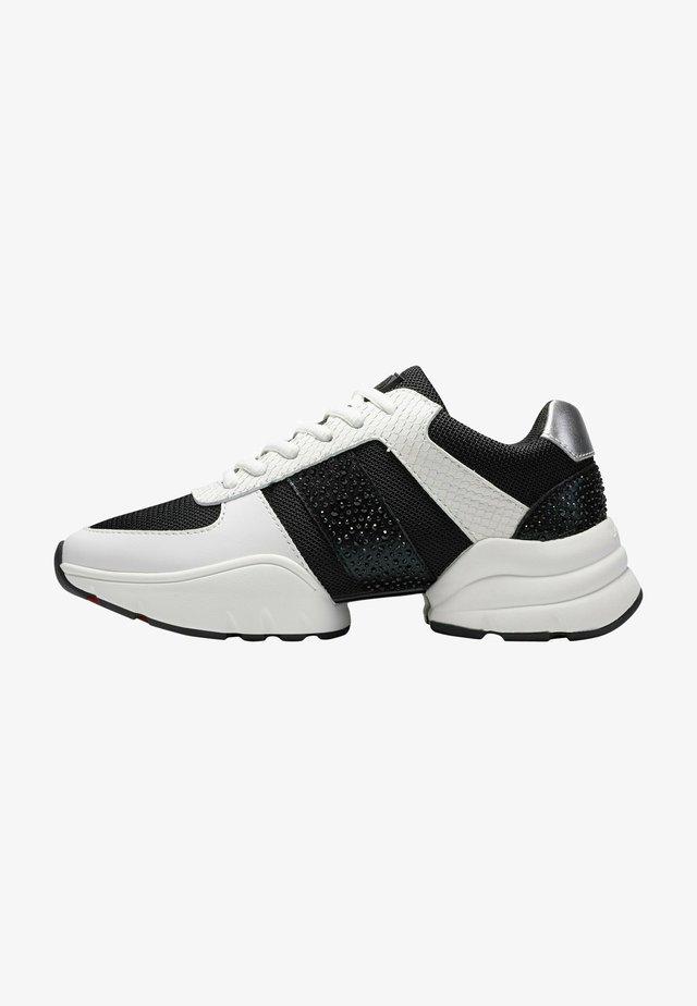 SPLIT RUNNER-SPARKLE - Sneakers laag - black