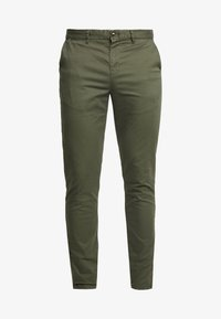 Scotch & Soda - MOTT CLASSIC SLIM FIT - Chinos - military - 4