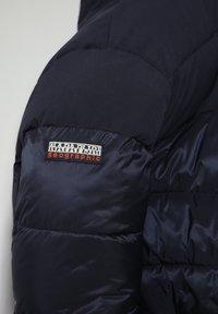 Napapijri - ATERBLU  - Winter jacket - blu marine - 4