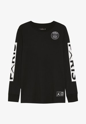 PARIS ST GERMAIN LONGSLEEVE - Klubtrøjer - black
