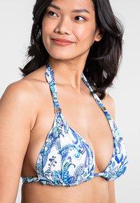 Lauren Ralph Lauren - MOLDED CUP SLIDER - Bikini top - blue - 1