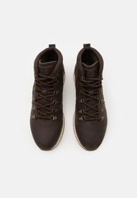 Barbour - MILLS - Lace-up ankle boots - dark brown - 3