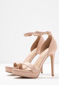ALDO - VARALITH - High heeled sandals - bone - 4