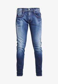 ANBASS HYPERFLEX BIO - Slim fit jeans - dark blue