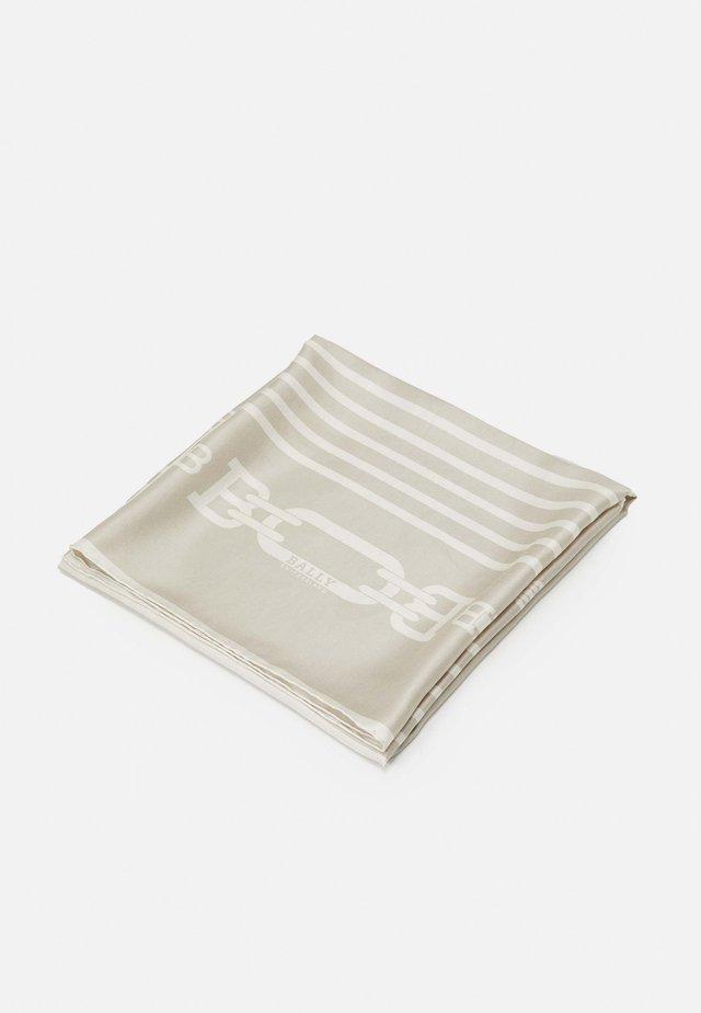 MINIMAL SQUARE SCARF - Šátek - lino