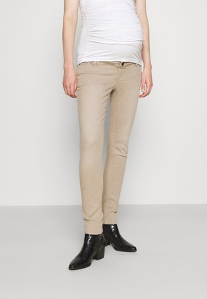 Jeansy Slim Fit - light taupe