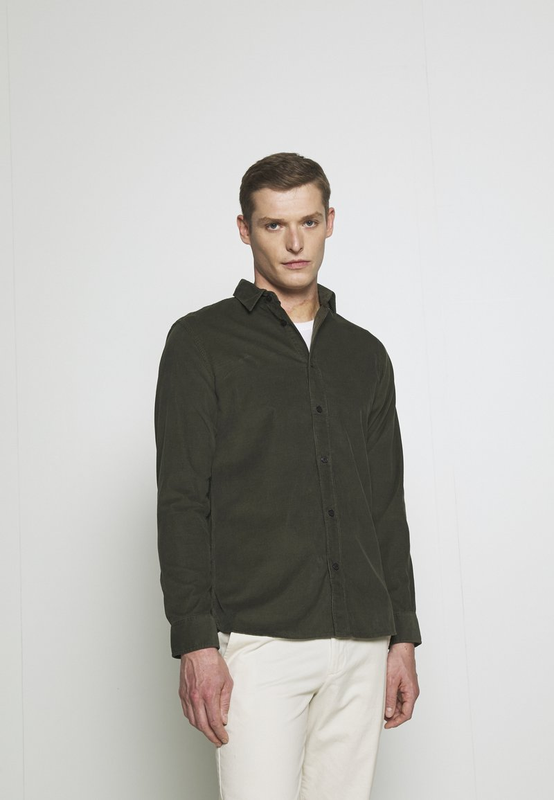 Selected Homme - SLHREGHENLEY CAMP - Overhemd - deep forest