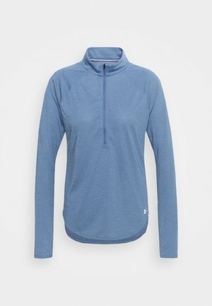 STREAKER HALF ZIP - Long sleeved top - mineral blue