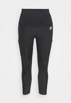 AIR 7/8 TIGHT PLUS - Leggings - black/white/silver