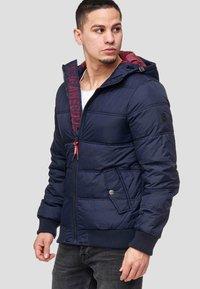 INDICODE JEANS - ADRIAN - Winter jacket - navy - 0