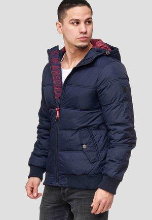 ADRIAN - Zimní bunda - navy