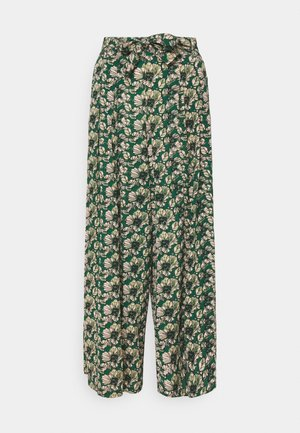 WANDA TROPICO PANT - Trousers - evergreen