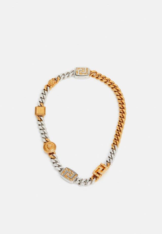 Necklace - gold-coloured/silver-coloured