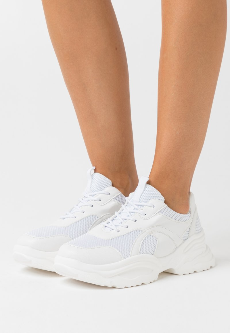 Missguided - UPDATED WAVE TRAINER - Trainers - white