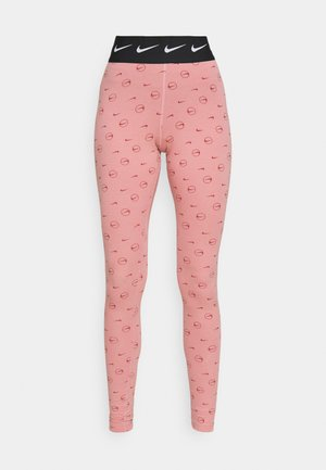 PRINT PACK - Leggings - Trousers - rust pink/canyon rust