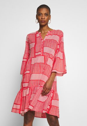 KAPARRIS DRESS - Blousejurk - high risk red