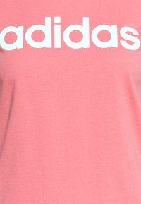 adidas Performance - Print T-shirt - light pink - 2