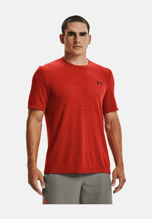 SEAMLESS FADE - Sports shirt - dark red
