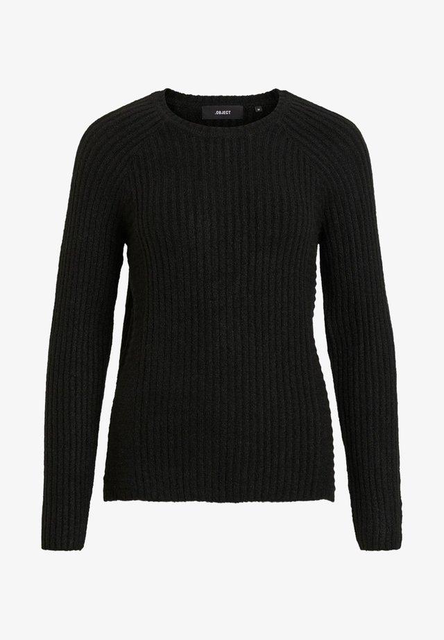 OBJNONSIA - Jersey de punto - black
